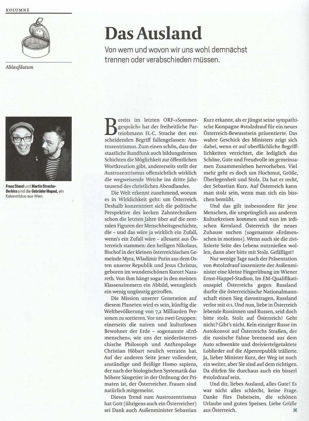 """Kolumne """"Ablaufdatum"""" im DATUM 12/2014"""