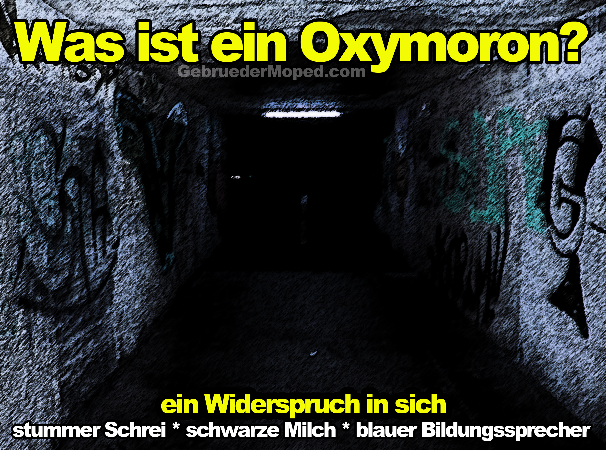 Was ist ein Oxymoron?