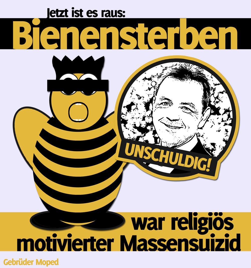Bienensterben war religiös motivierter Massensuizid