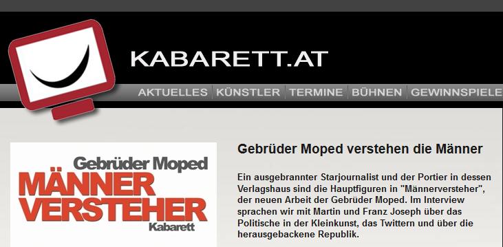 Interview auf kabarett.at