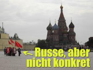 Russe, aber nicht konkret