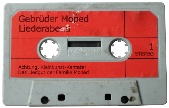 Der Gebrüder Moped Liederabend