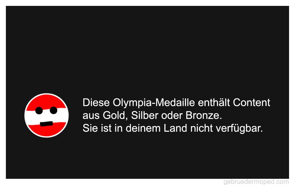 Diese Olympia Medaille ist in deinem Land nicht verfügbar.