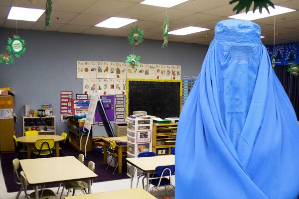 Burka im Kindergarten