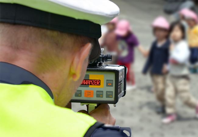 Polizei jagt Schulschwänzer